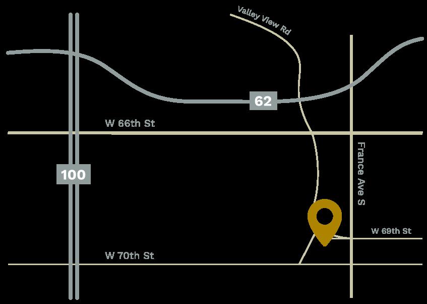 M. Waxing Map Location | Edina, Minnesota